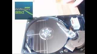 Remove Mark from Hard Drive Platter