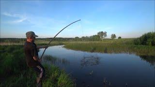 Рыбалка на подъёмник ПАУК щука окунь карась Закормил рыбу и что из этого получилось