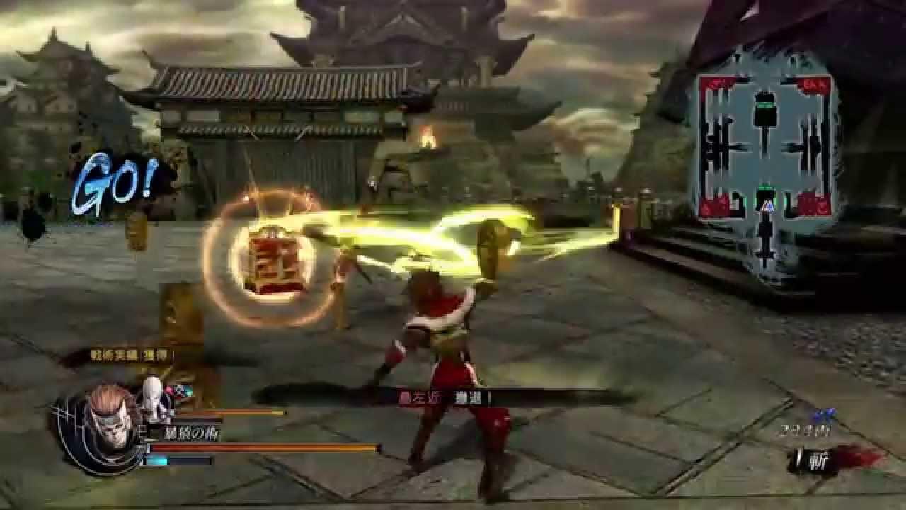 戰國BASARA4 皇 天難度 猿飛佐助 Final Ver. COMBO MOVIE - YouTube