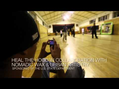 Arts Exchange: South Africa & USA (Film workshops with Magee of Nomadic Wax)