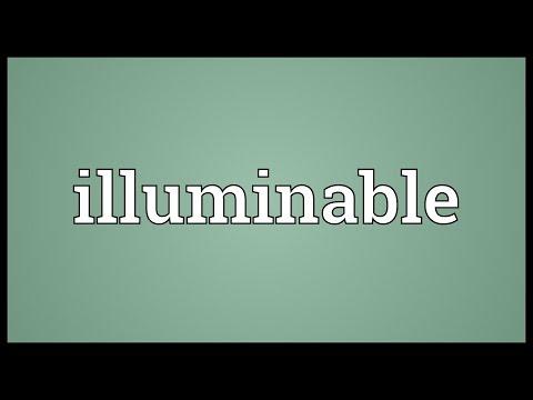 Header of illuminable