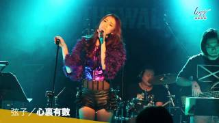 弦子【逆風的薔薇】搖滾演唱會 - 心裏有數 Live