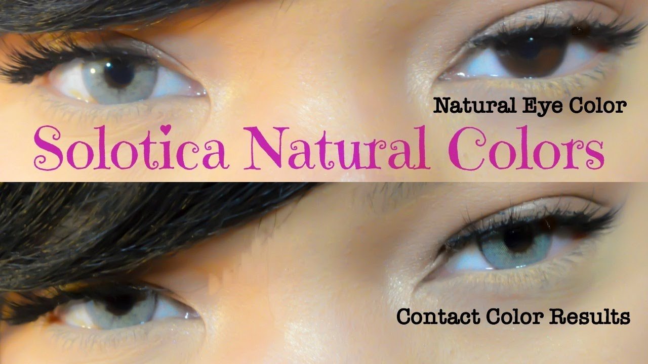 How To Make Colored Contacts Look Natural