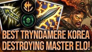 Best Tryndamere Korea Destroying Master Elo! | High Elo Replays