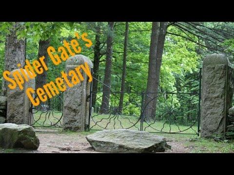 Spider gates cemetary.