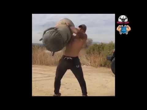 Ultimate Fitness - Michael Vazquez's EXPLOSIVE Workout l video by UgisRozenbahs