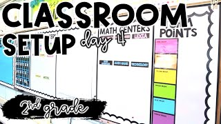 CLASSROOM SETUP DAY 4! - Decorating all the walls!