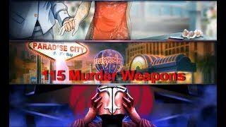 [EXCLUSIVE] Criminal Case   All of 115  Murder Weapons from Season 1 & 2   Murder Weapons