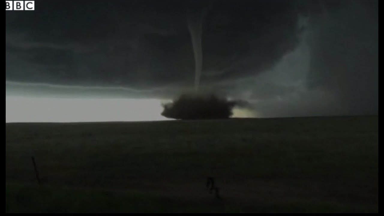 Storm Chasers Film Anticyclonic Tornado Hitting Colorado YouTube - Storm chaser gets struck lightning films