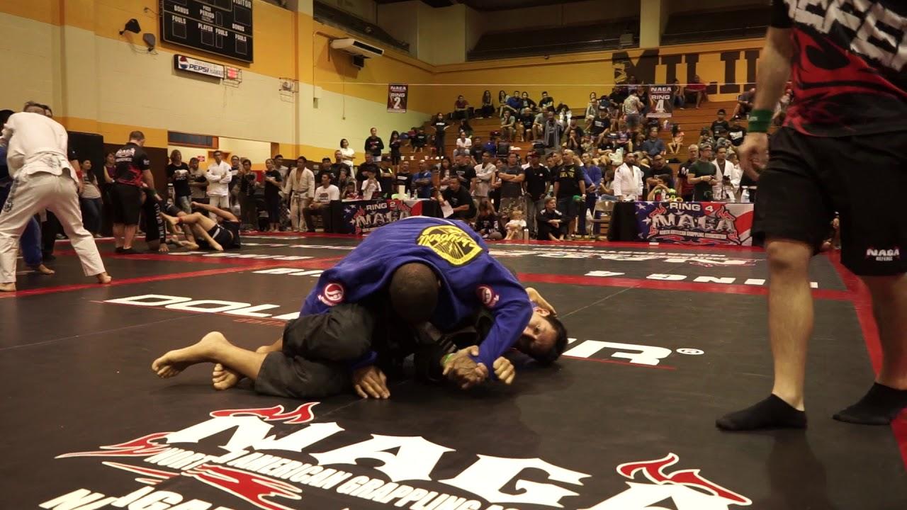 BJJ NAGA Tournament 2018 - First Competition - White Belt - Director RD1