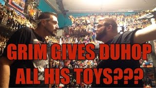 Duhop & Grim's Ultimate toy room : WWE Mattel wrestling figure collection given away!