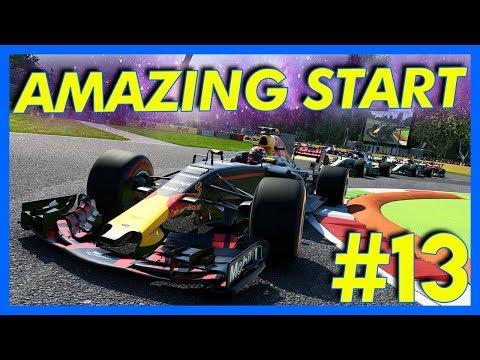 F1 2017 Career Mode Gameplay : AMAZING START!! (Part 13)