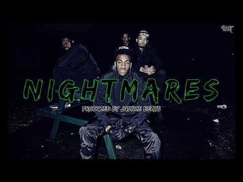 Bugzy Malone x Stormzy | UK Rap Type Beat - Nightmares | New Grime Instrumental