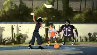 Baskup Tony Parker-Maudit Ballon [French]