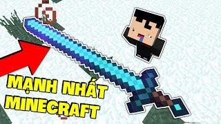 THỬ THÁCH TẠO CÂY KIẾM MẠNH VÀ VIP NHẤT MINECRAFT (Zeros Thử Thách Minecraft)