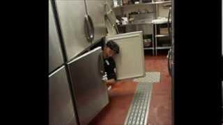 ブロンコビリー 冷蔵庫に入ったA君。哀れな末路。今は怖くて外出もできないんだって!ざまぁみろ!自業自得! 青木恭子 検索動画 18