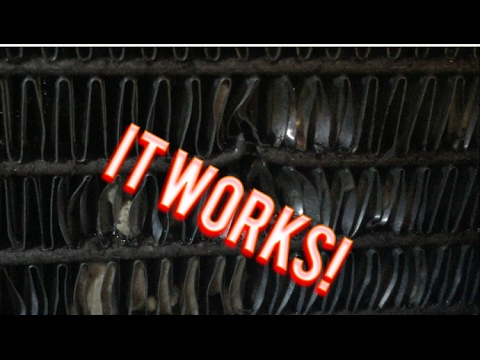 Car Truck Motorcycle Easy Radiator Fin Straightening
