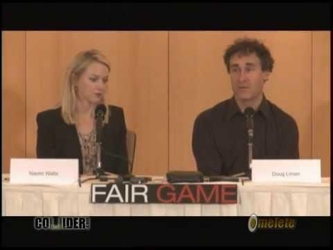 Naomi Watts and Doug Liman Interview FAIR GAME
