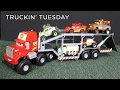 Truckin' Tuesday Off-Road Mack Transporter Radiator Springs 500 1/2