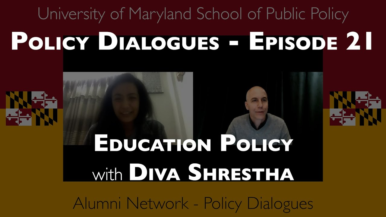 Education and Public Policy with Diva Shrestha - Policy Dialogues Ep.21