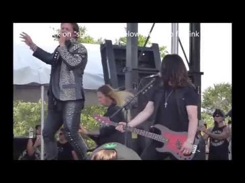 "FOZZY performed new song ""Judas"" in Texas - Incantation new album Profane Nexus teaser..!"