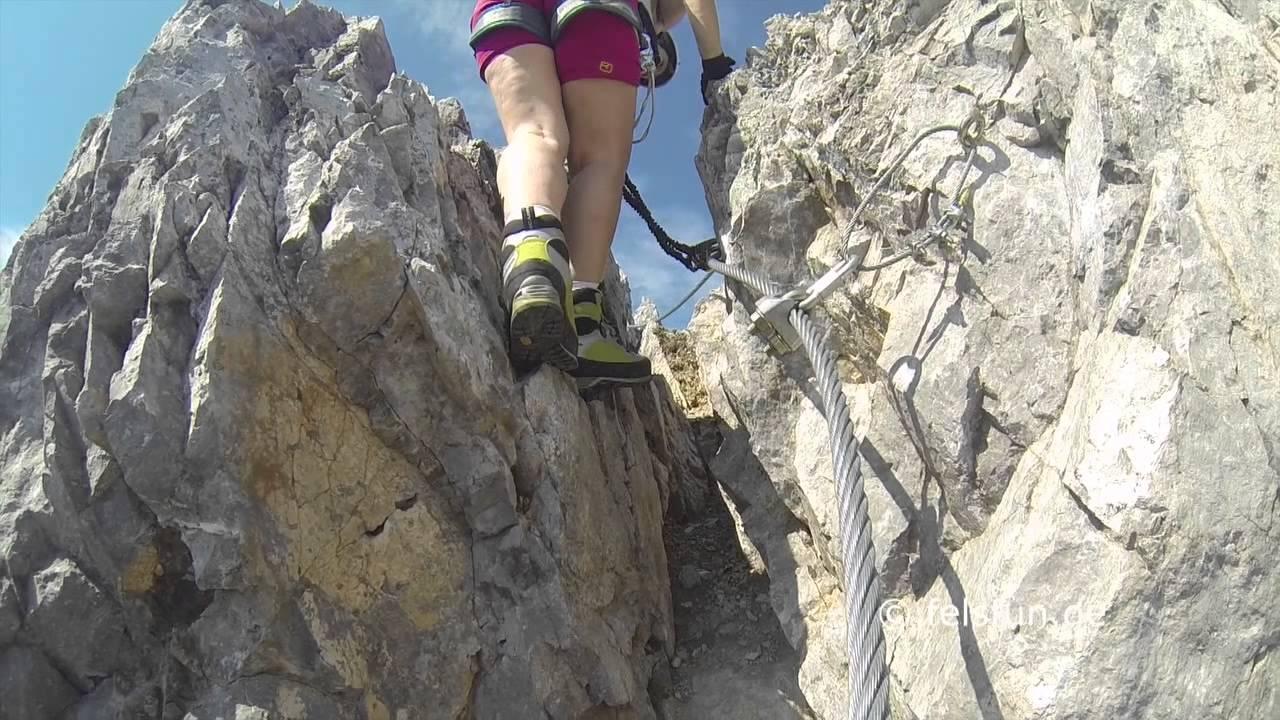 Klettersteig Innsbruck : Innsbrucker klettersteig 2015 youtube