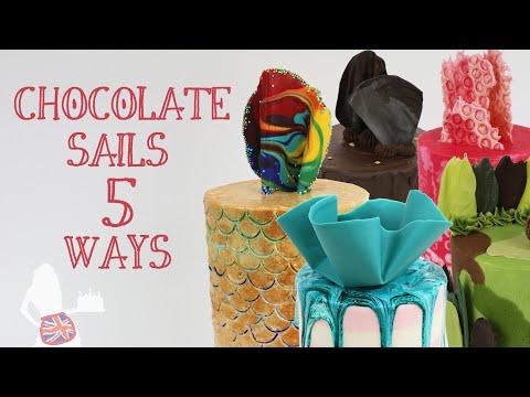 Chocolate Sails 5 Ways