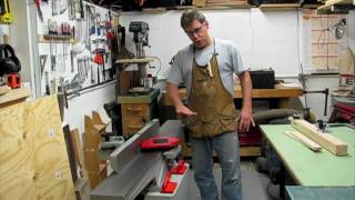Tone's Corner Cabinet 1 - Jointer