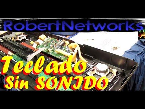 Arreglar Teclado Yamaha, Teclas Sin Sonido, Pistas Cortadas?- RobertNetworks