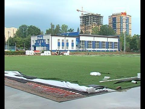 В микрорайоне Сходня заканчивается реконструкция стадиона «Юность»