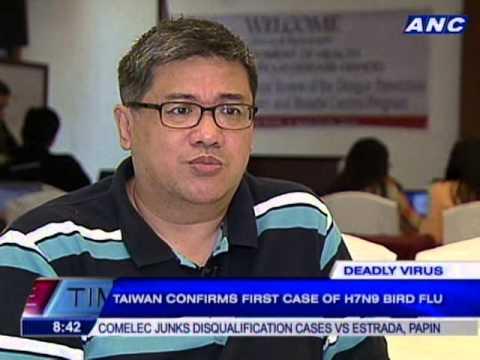 Philippine health and airport officials go on heightened alert against new bird flu virus