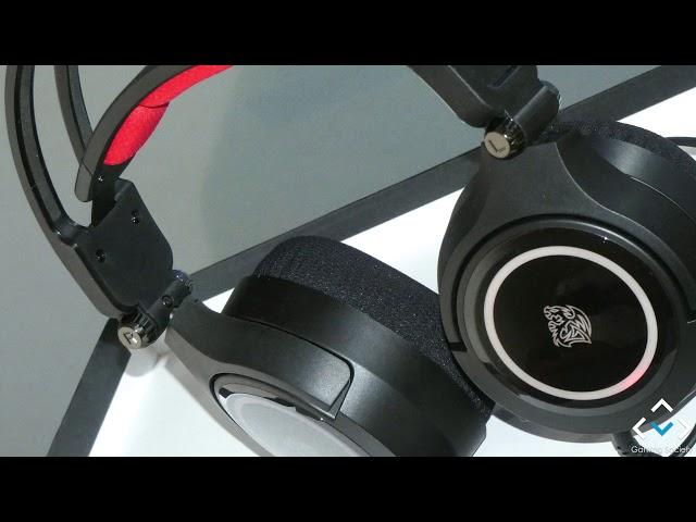 Test mikrofonu - TT Esports Cronos Riing 7.1 RGB