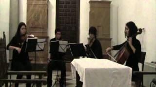 Ave María - F. Schubert (Cuarteto de cuerda