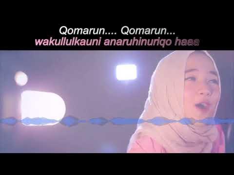 Qomarun KARAOKE Dan LIRIK Teks Versi SABYAN (HD) No Vocal Tanpa Vokal