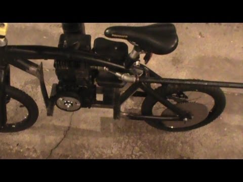 Motorized Bmx Bike Build Part 3 Youtube
