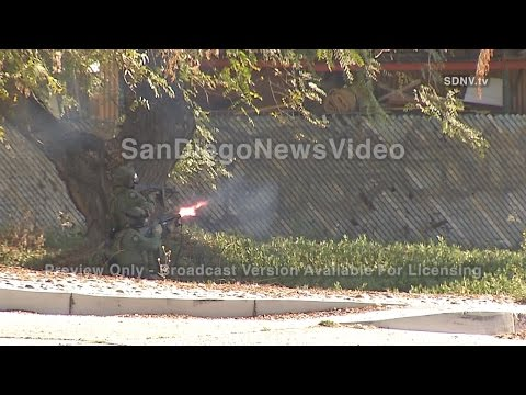 SWAT STANDOFF: Man barricaded with explosives - Part 3, Pacific Beach