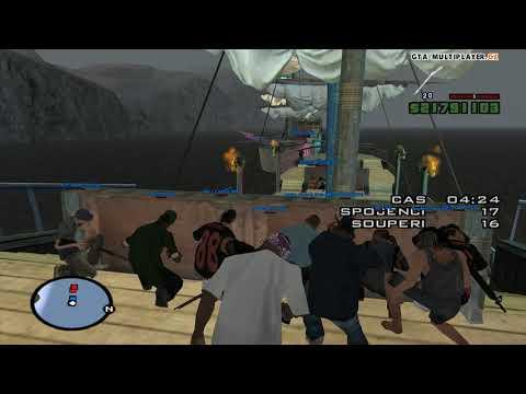 Pirátský event na WTLS / GTA SAN ANDREAS MULTIPLAYER