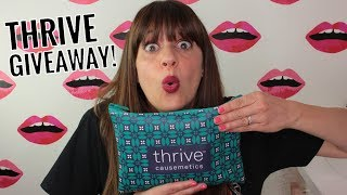 Thrive Causemetics GIVEAWAY!