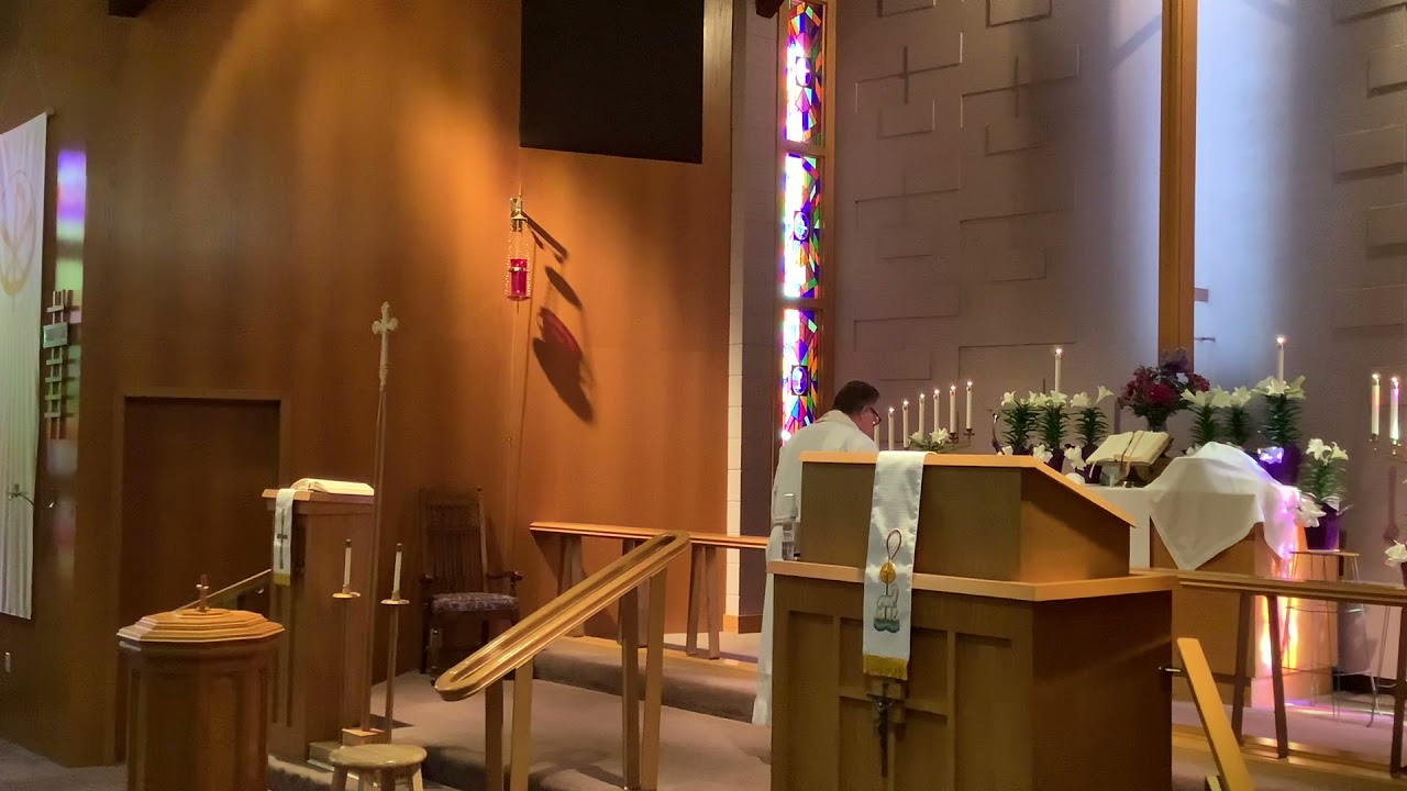 Easter Sunday, Good Shepherd Lutheran Church, LC-MS, Two Rivers, WI, Rev. William Kilps