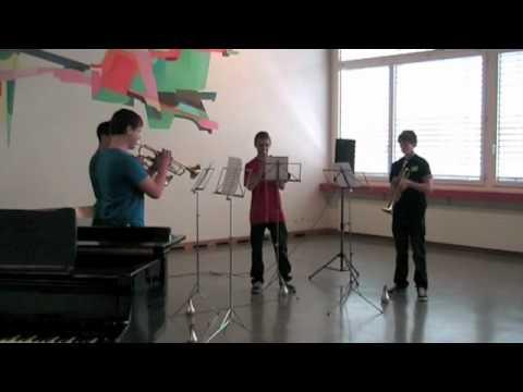 Trompetenquartett am KSEW 2010