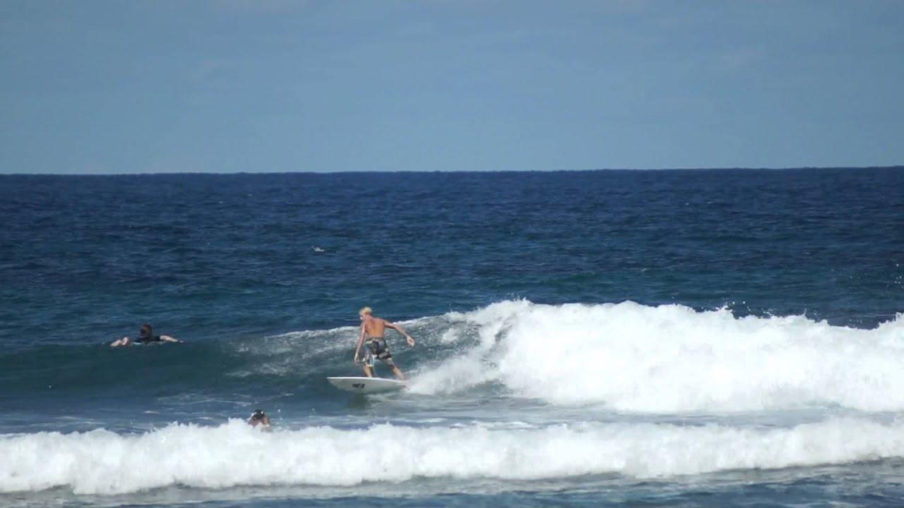 Surfing Frontside At Jobos Beach In Isabela Puerto Rico Goseepr