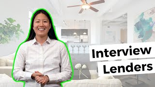 Home Buyer Tips: Why you should Interview Multiple Lenders #movemetotx