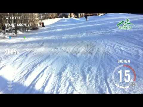 Trace: Skiing - Brett Weiner at Mount Snow