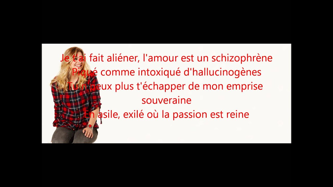 Louane alien parolesmusic youtube for Louane chambre 12