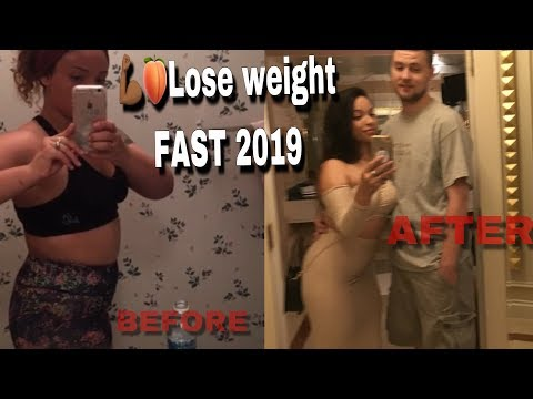 💪🏾🍑Lose weight FAST 2019👰🏽Bridal edition