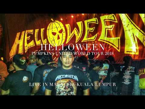 Helloween Live In Malaysia 2018