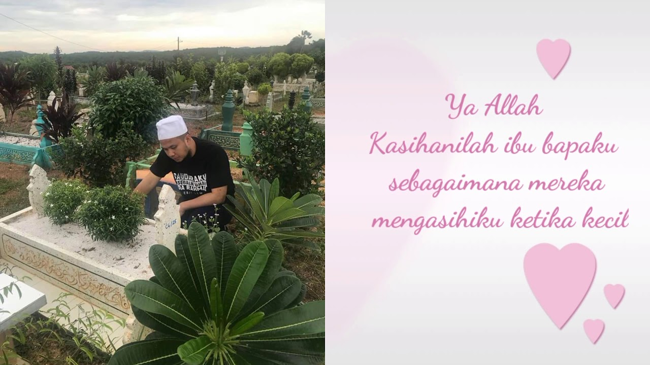 Ebit Lew - Ziarah Kubur Mak Rindu Sangat - YouTube