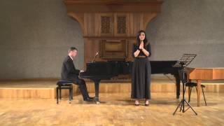 "J.S.Bach Easter Oratorio ""Magnificat"" (Quia respexit...) Nelly Gasparyan| Vasili Rolich"