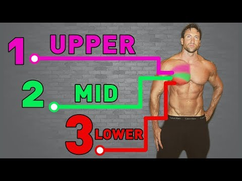 Best Chest Workout For SIZE + AESTHETICS | UPPER - MID - LOWER