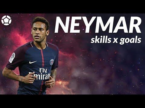 Neymar Jr ● Crazy Skills x Goals ● 2017-18 ● 4K